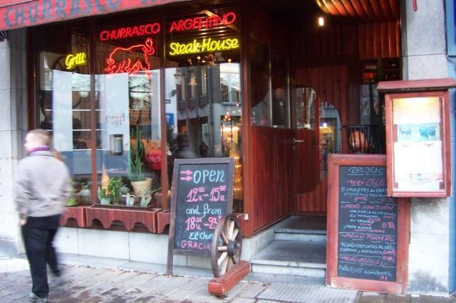 Chilean Restaurant Menu Cl